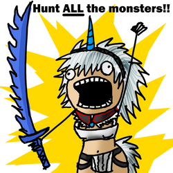 Hunt ALL the Monsters by Daowg