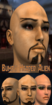 Bumpy Headed Alien 3 pack for Genesis by JeremyVilmur