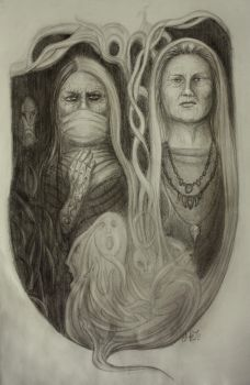 The Wise-Women by HelevornArt