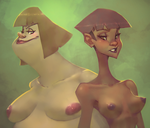 Vera and Radha by Sycra