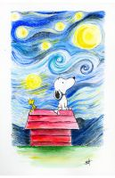 Snoopy by Nephellim