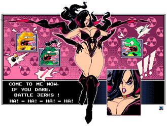 Battletoads - Challenge the Dark Queen X3 by TRUEvector
