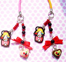 Mami and Charlotte Charm by mixow