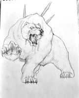 Harpooned Bear by Kempping