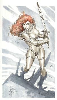 Red Sonja from NYCC by RandyGreen
