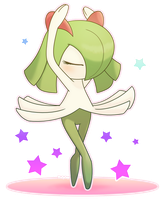 [C] Kirlia by Alolan-Vulpixy