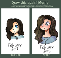 Draw this Again Meme by TreeGreen12