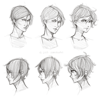 Style variation practice by kamidoodles