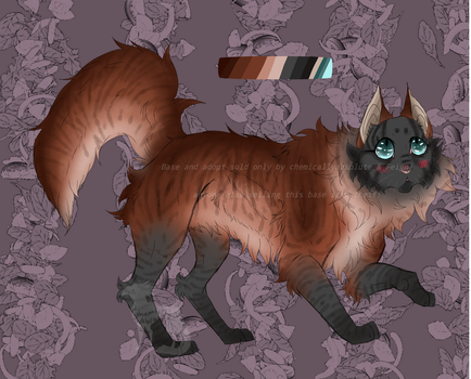 Warrior Cat Adopt Open!! by ChemicallyAbsolute
