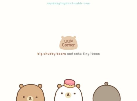 Little Corner Bears by SqueakyToybox