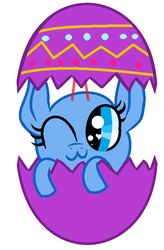 MLP Base #126 ' Happy ( Late ) Easter Day ! ' by RachelClara