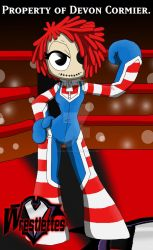 Wrestlettes - Molly's Raggedy Rumbler Costume by PlayboyVampire