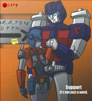Support +Comm+ by tera633