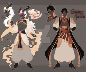 Desert Adopts [AUCTION] (closed) by Pixel-Latte