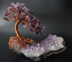 Amethyst Tree of Life by Twystedroots