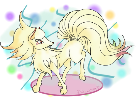 Party Cake Pixxy by XxPaperLacexX