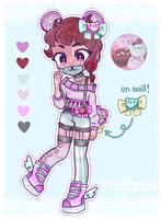 [Adopts]: Bear Macaron by SimplyDefault
