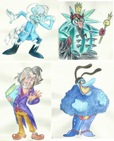 Campy Villains by TopperHay