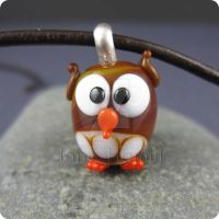 Orly Owl pendant by janehamill