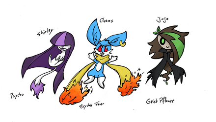 If we were Pokemon by ShirleyVaga