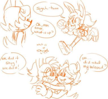 [Sonic] Becoming the Dad 1/2 by Shinkumancer