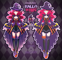 [Closed] Halloween Adoptable AUCTION #6 by Black-Quose