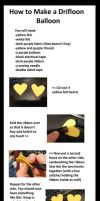 Drifloon Ballon Tutorial by chameleoncosplayteam