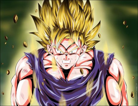 Goku going Super 2 by condemned2love