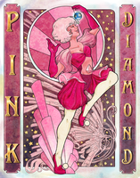 Pink Diamond by abstractmouse