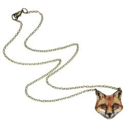 Fox Necklace by KawaiiCulture