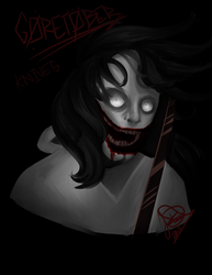 Goretober Day 21: Knives by JDGaming2001