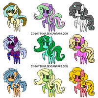 Chibi Pony Adopts CLOSED by Inner-Realm-Adopts