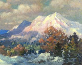 Autumn Mountains by hbpaintings