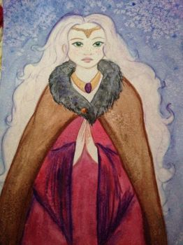 Una Mage from the mountain by EmiliAlys