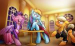 Just A Trio Of Ponies by Conicer