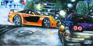 The Fast and Furious 3 by dan996