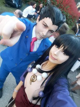 Phoenix wright cosplay! Pic 2 by Rush88