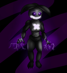 Shadow Toy Chica by TickTockGJ