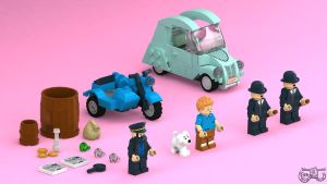 LEGO Tintin - The Full Set by Concore