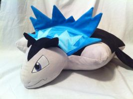 Typhlosion minky pillow plush