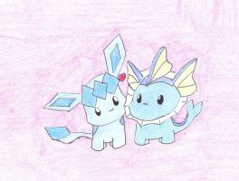 glaceonXvaporeon by 00maybe00