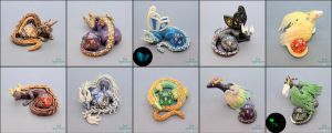 Dice Holders UmiCon 2014 by PepperTreeArt