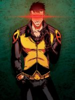 Scott Summers by dronio