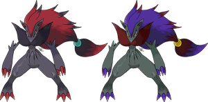Zoroark v.2 by Xous54