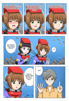 CCS: Sakura and Friends at the Aquarium Page 34 by The-Sakura-Samurai