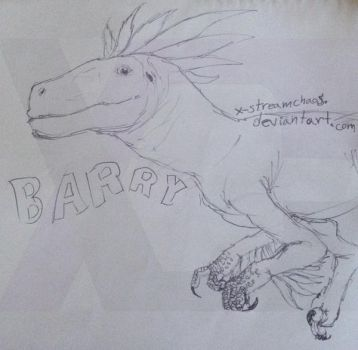 RIP Barry by X-StreamChaos