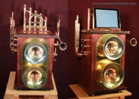 Tinkerton's Aether Receiver by Steampunked-Out