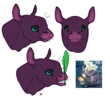 Tiny Sapient Ungulate Lips by Dragimal