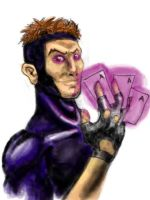 gambit card by FATRATKING