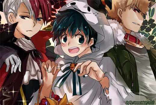 Happy Halloween~!! Plus Ultra~~ by Toriichi